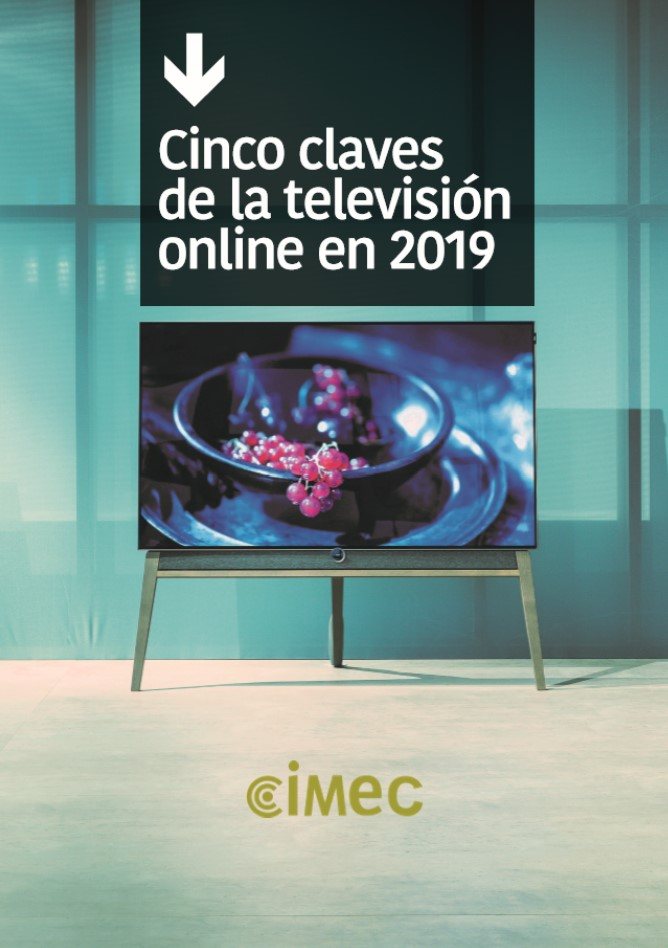 Ebook Cinco claves de la televisión online en 2019